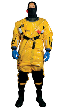 RESCUE SUIT PRO COLD & ICE COMMANDER ADULT GOLD *D*