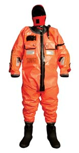 SURVIVAL SUIT STANDARD OCEAN COMM WITH/HARNESS