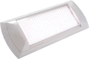 OCEANUS LED UTILITY LIGHT 18W NAT.WHT & RED 3900K FROSTED LENS