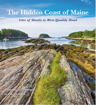 BOOK THE HIDDEN COAST OF MAINE BY JOHN DEVENNEY