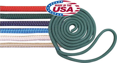 ROPE DOCKLINE NYLON DOUBLE BRAID (ROCKPOINT ROPE)