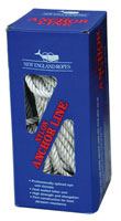 NYLON/3-STRAND ANCHOR LINE W/SS THIMBLE (BY/EACH)