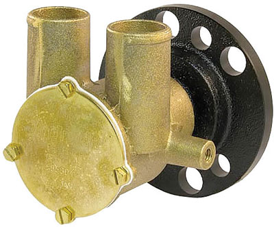 ENGINE COOLING PUMP F6B-9 EXTRA FLOW CRANK SHAFT