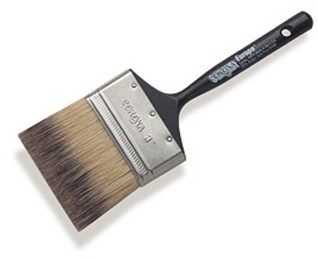 PAINT BRUSH EUROPA BADGER STYLE PURE BRISTLE