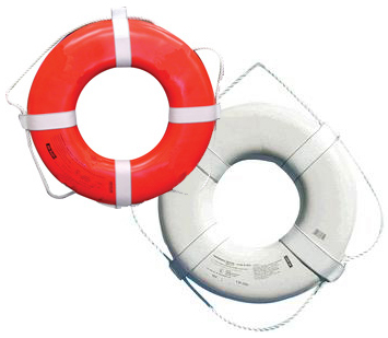 RING BUOYS (WHITE & ORANGE)