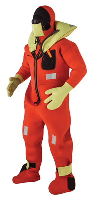 KENT SURVIVAL SUIT ORANGE/YELLOW