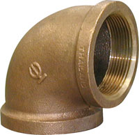ELBOW 90 DEGREE BRONZE