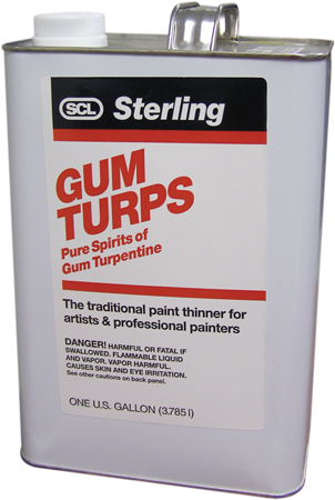TURPENTINE GUM PREMIUM GALLON STERLING