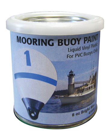 PAINT MOORING BUOY BRIGHT BLUE FOR PVC BUOYS 8oz