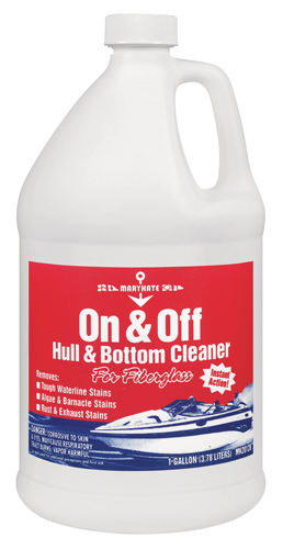 CLEANER HULL ON & OFF GALLON