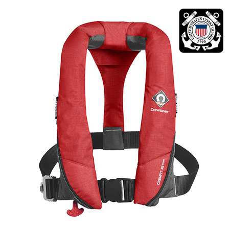 CREWFIT 35 SPORT PFD RED