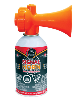 SAFETY SIGNAL HORN 3.9OZ FOR BOATS UP TO 65' 120DB