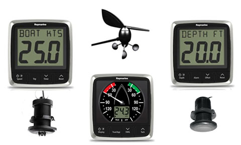 I50 I60 SYSTEM PACKAGE WIND SPEED DEPTH W/TRANSDUCER