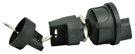 3-POSITION SEALED NYLON IGNITION SWITCH OFF/IGNITION & ACCESSORY/IGNITION &