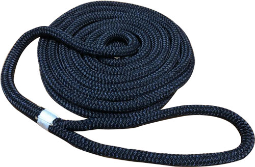 ROPE DOCKLINES NYLON DOUBLE BRAID (VARIOUS SIZES AND COLORS)
