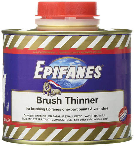 THINNER POLYURETHANE F/BR FOR BRUSHES 500ML/1.056PT