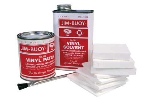 REPAIR KIT FOR JIM BUOYS RAFTS AND RING BUOY