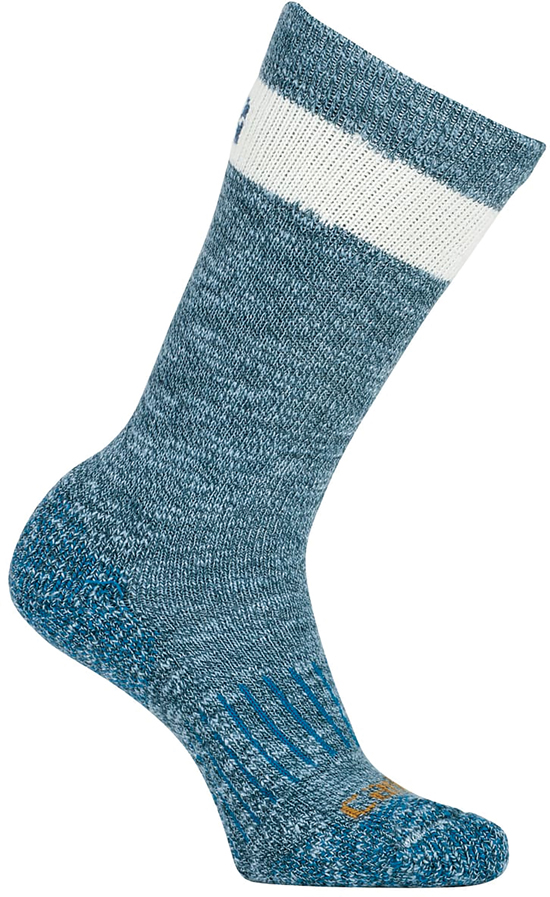 SOCKS CARHARTT WOMENS HIKER CREW BLUE MEDIUM