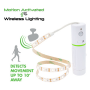 LED ROPE LIGHT MOTION ACTIVATED