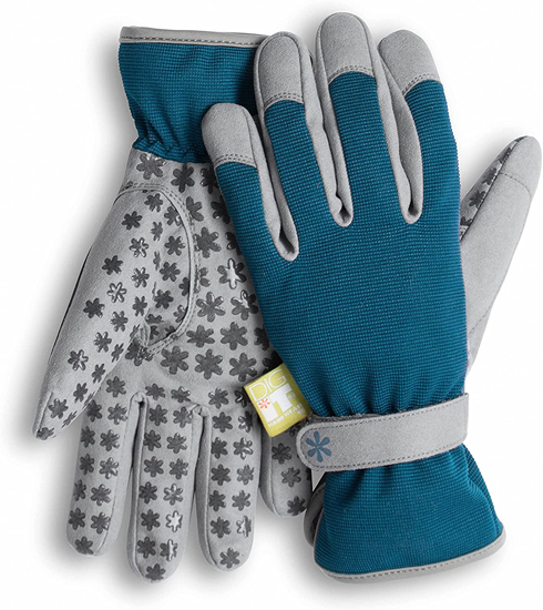 GARDENING LADIES SMALL/MED BLUE/GREY