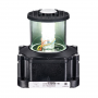SERIES 60 WHITE LED STERN 24V NAVIGATION LIGHT BLACK HOUSING