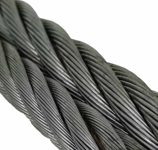 "WIRE ROPE SC 6X25 .63 5/8""STL CORE RL (BY/FOOT)"