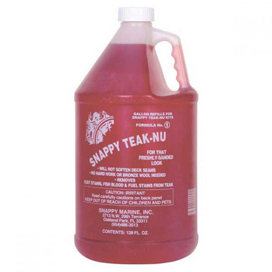 SNAPPY TEAK-NU CLEANER PART 1 GALLON
