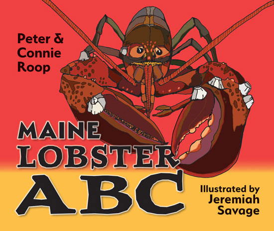 BOOK MAINE LOBSTER ABC BY PETER AND CONNIE ROOP (SOFT COVER)