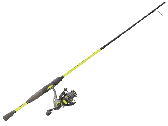 LEW'S HYPERSONIC SPINNING COMBO 2PC 6'