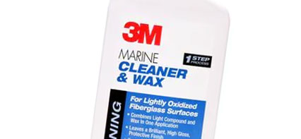 FIBERGLASS CLEANER & WAX