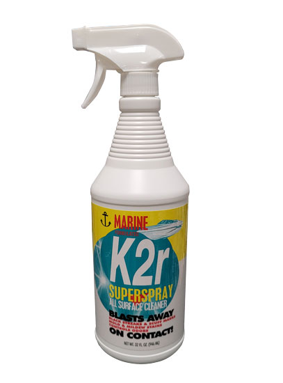 MARINE SURFACE CLEANER 32 FL OZ  K2R