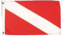 "FLAG DIVERS 20""X30"" NYLON"