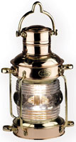 LIGHT ANCHOR KEROSENE BRASS & COPPER