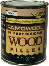 Wood Filler Oak Teak Pint Famowood