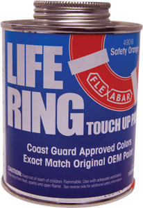 PAINT LIFE RING TOUCH UP SAFETY ORANGE PINT
