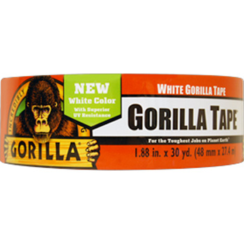 "TAPE DUCT GORILLA WHITE 1.88"" X 30 YDS"