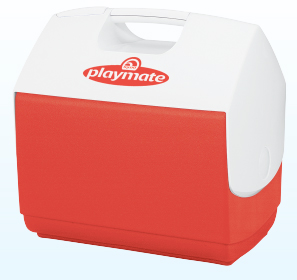 COOLER 16QT PLAYMATE RED