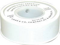 SAFETY WIRE SS .041 1# 223 FT ON METAL SPOOL