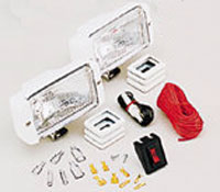 LIGHT DOCK WHITE KIT CONTAINS TWO LIGHTS