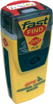 PERSONAL LOCATOR BEACON 406 FASTFIND 220 WITH GPS