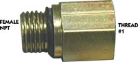 FUEL FITTING FILTER FITS 220-320 9/16 X 3/8
