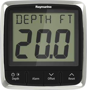 I50 DEPTH SYSTEM DISPLAY THRUHULL NYLON TRANSDUCER