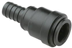 "FITTING 15MM X 1/2"" H.B. HOSE BARB PLASTIC"