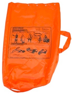 SURVIVAL SUIT STORAGE BAG FOR STANDARD SUIT ORANGE