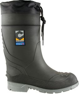 BOOT BADAXE STEEL TOE BLK SIZE 6(RATED TO -40)