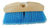 "BRUSH CLEANING BOAT WASH 3"" X 9"" XTRA SOFT BRISTLE"
