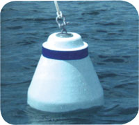 "BUOY TAPERED MOORING 18"" 2.5"" TUBE 35LB BUOYANCY"