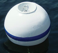 "BUOY MOORING 18"" 2.5 TUBE RECESSED AREA FOR SHACKLE"