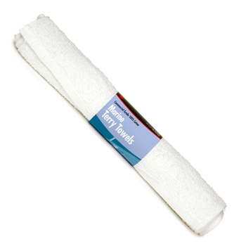 TOWELS TERRY MARINE 3 PACK ROLL