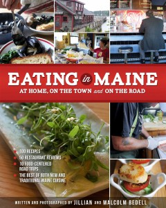 BOOK EATING IN MAINE BY BEDELL